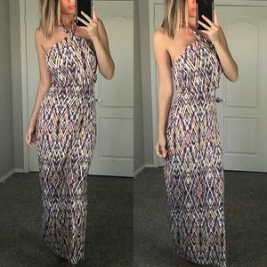 Cynthia Rowley Halter Maxi Dress Size XS